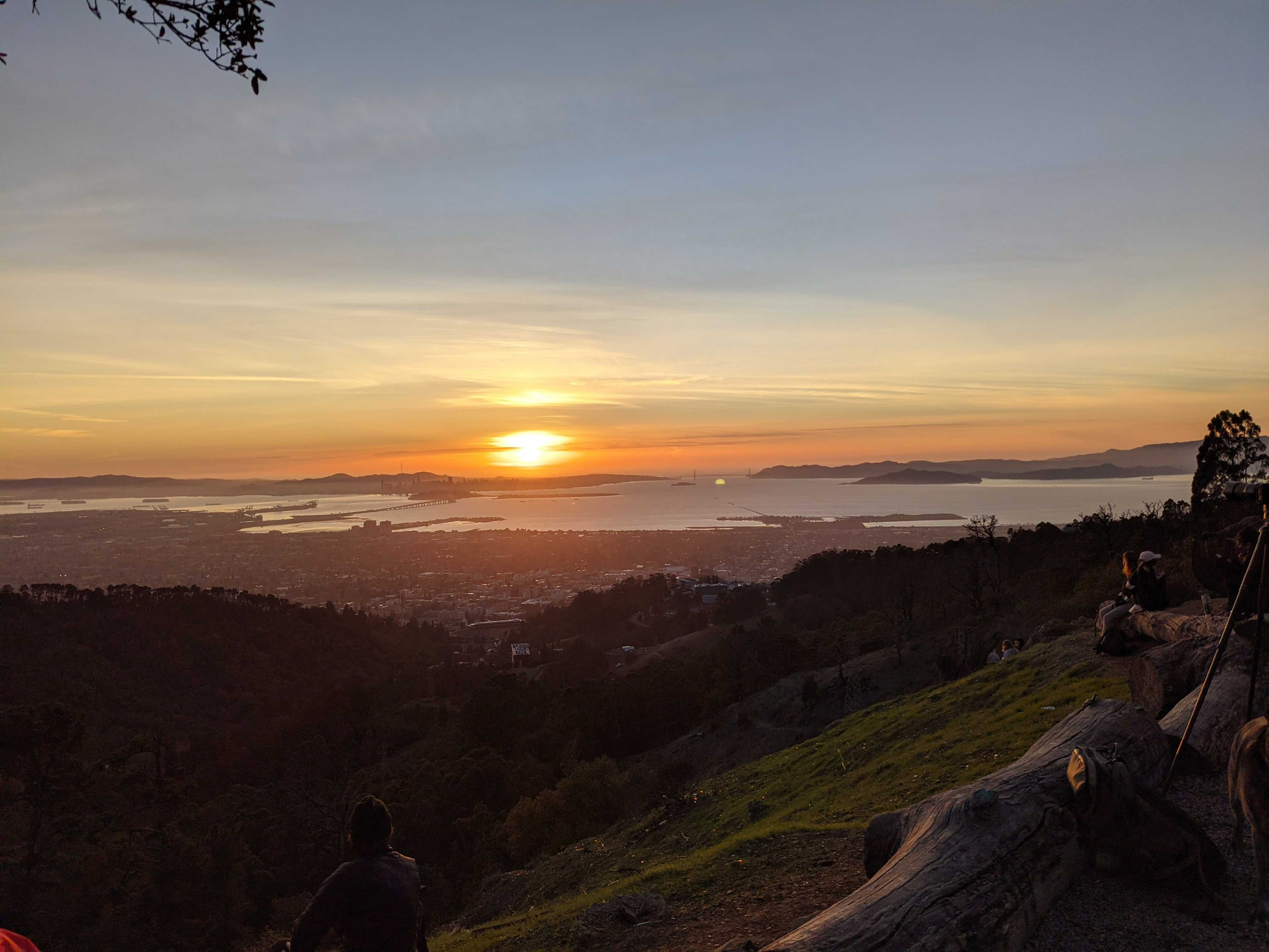 View from my hike in Berkeley (Grizzly Peak)